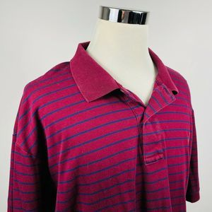 Ralph Lauren 4XB Pima Soft Touch Polo Red Striped